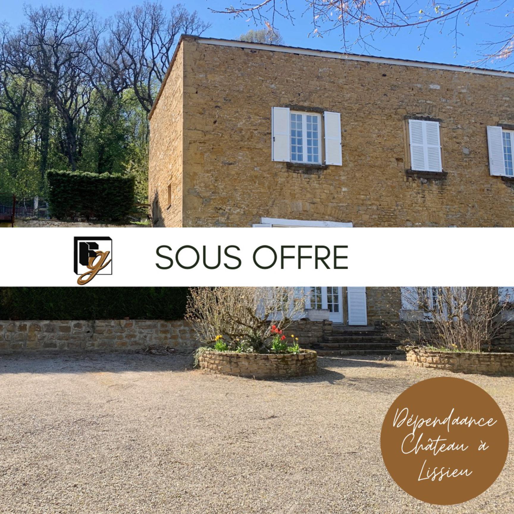 SOUS OFFRE // LISSIEU - Dépendance Château
