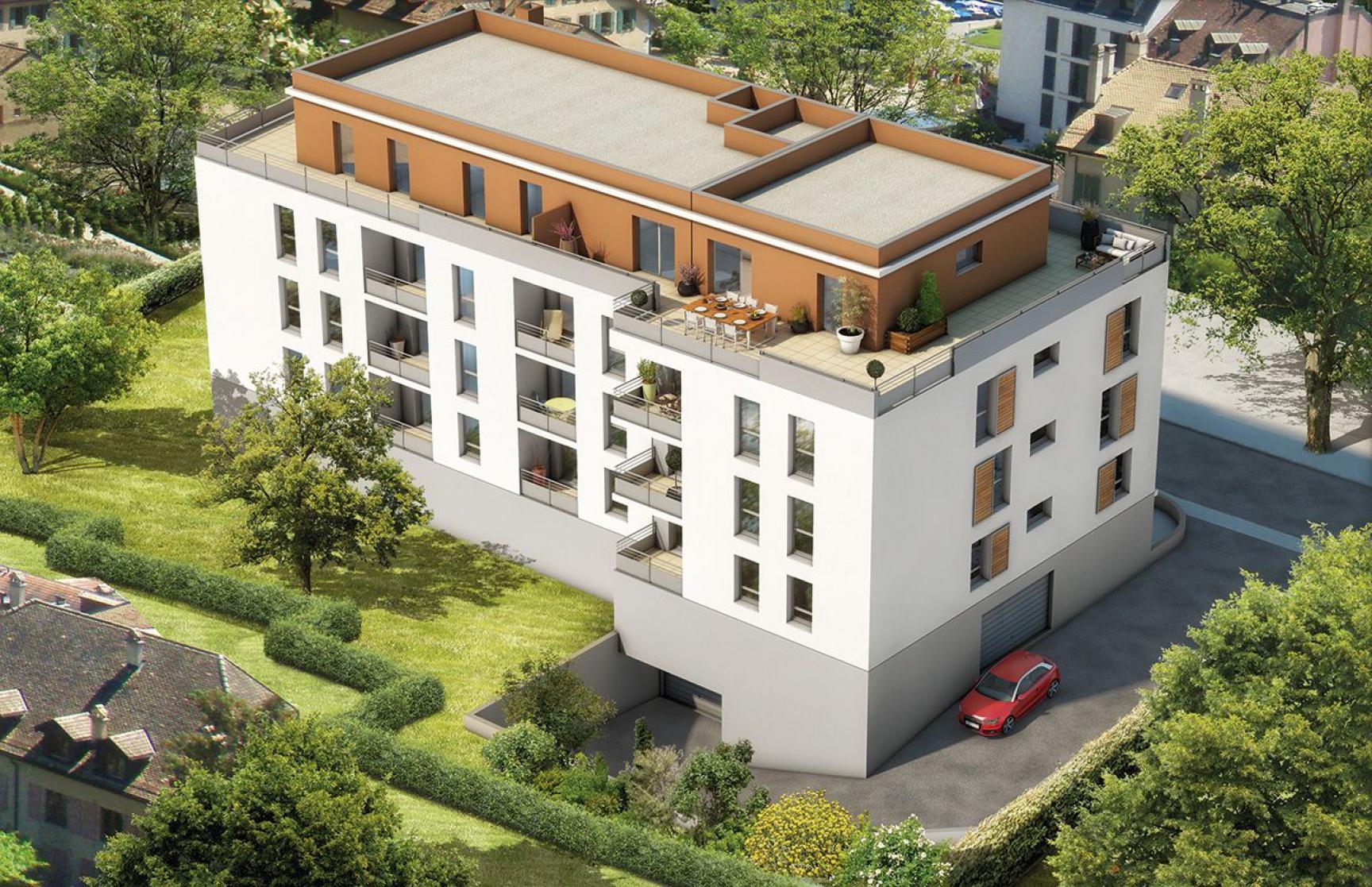 Annonce vente appartement thonon les bains 74200 62 m for Garage thonon les bains