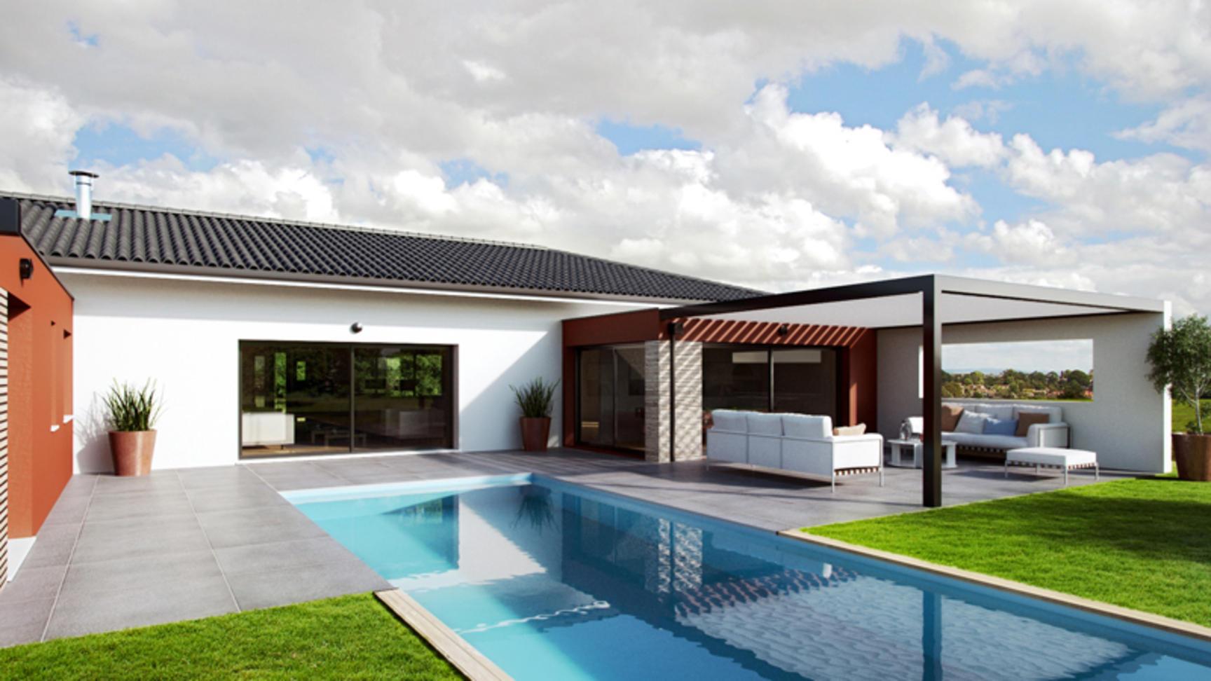 Annonce vente maison eaunes 31600 100 m 244 000 - Logiciel conception maison ...