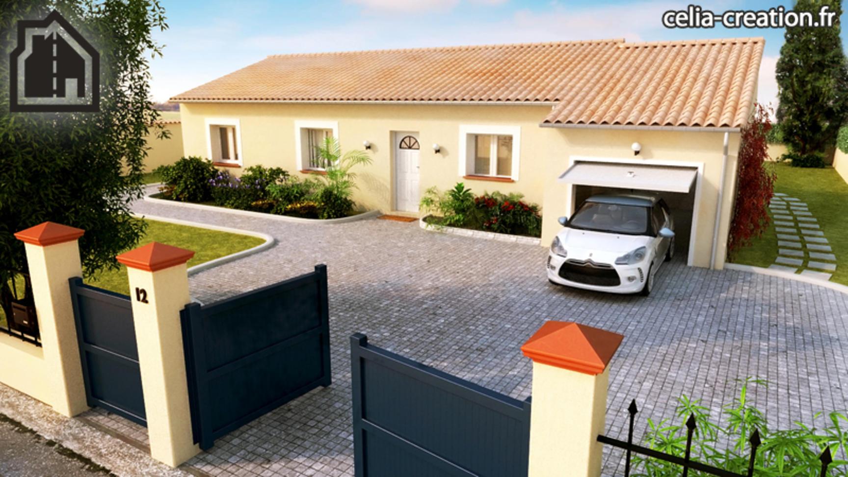 Annonce vente maison carbonne 31390 100 m 194 715 - Logiciel conception maison ...