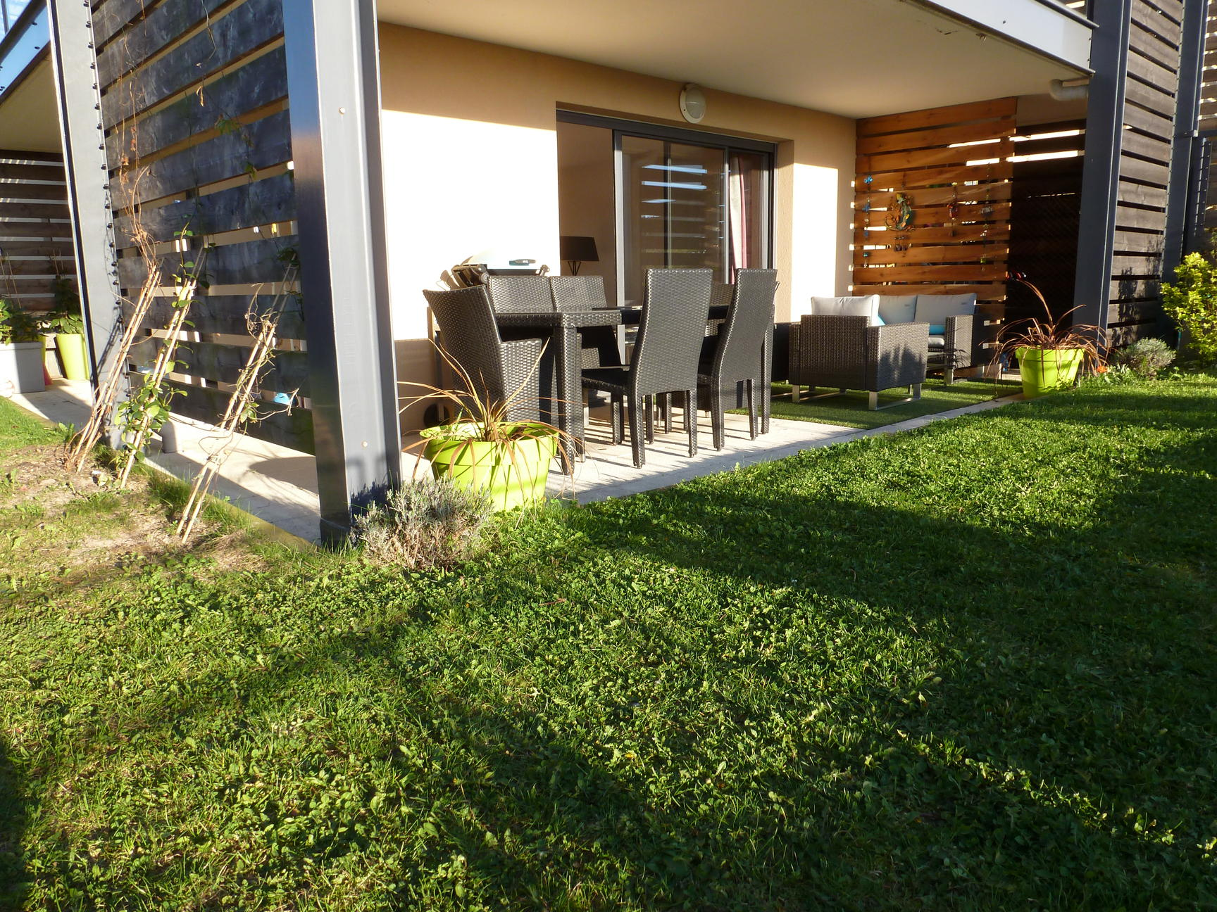 Frederique guillerme agence immobiliere apartement t4 for Jardin 100m2