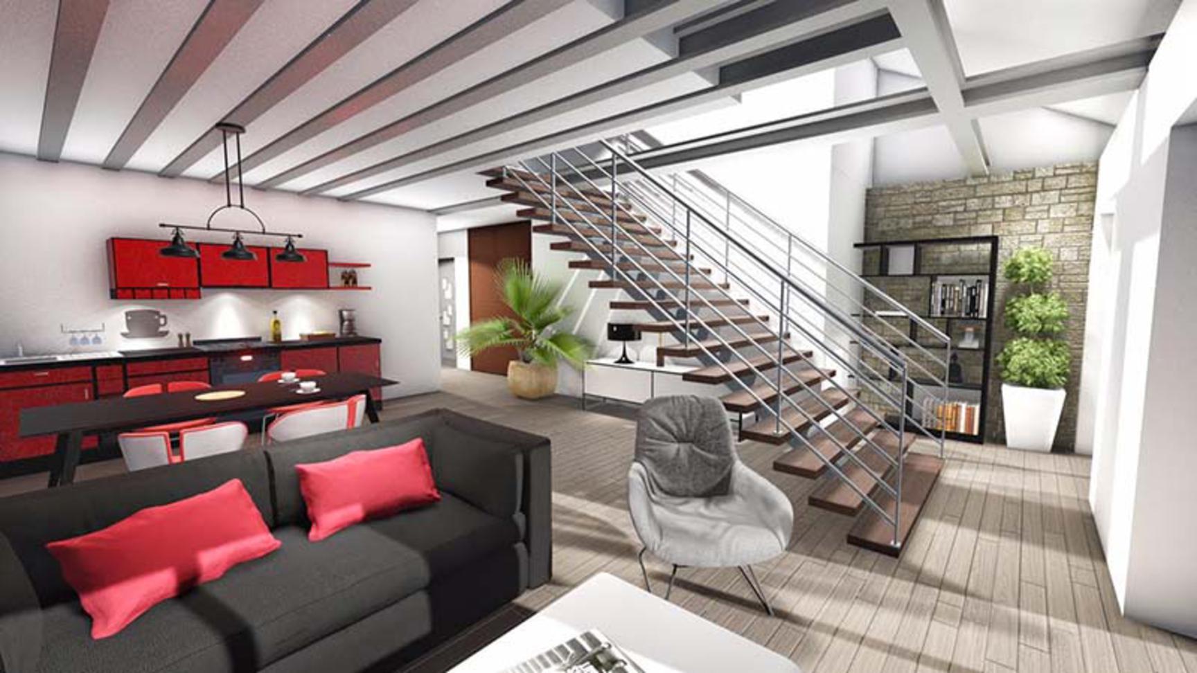 Annonce vente loft saint jean bonnefonds 42650 110 m for Loft annonce